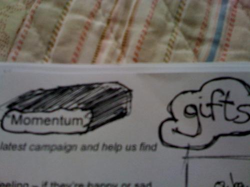 momentum = gifts